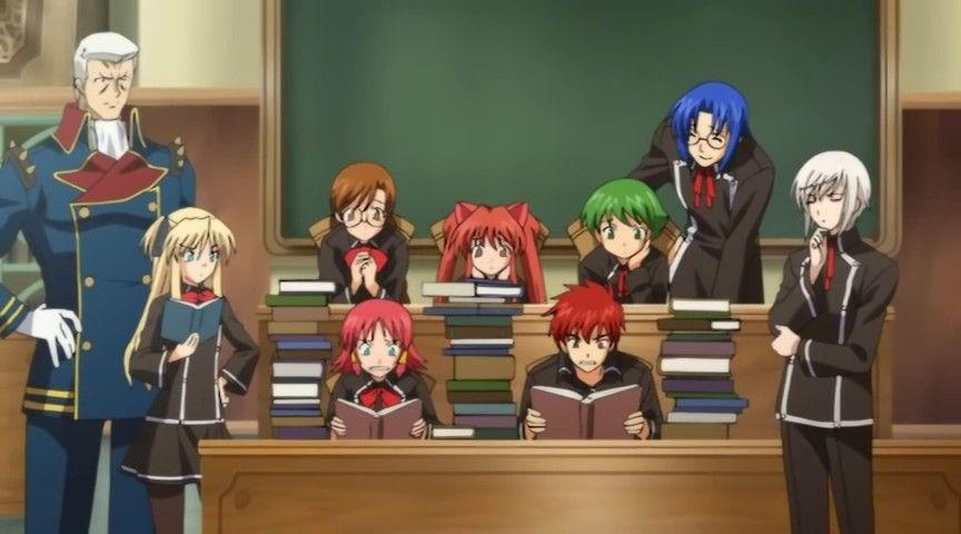 Смотреть аниме сериалы про магию про школу как при гадании узнать свою карту